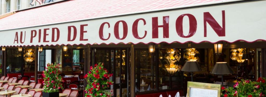 Au Pied de Cochon (オ・ピエ・ド・コション) パリの老舗レストラン。