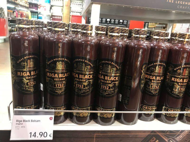 ラトビア・リガ空港で買うべきお土産!リガブラックバルサム