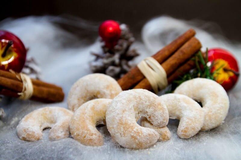 ドイツのクリスマスクッキー バニラキプフェル