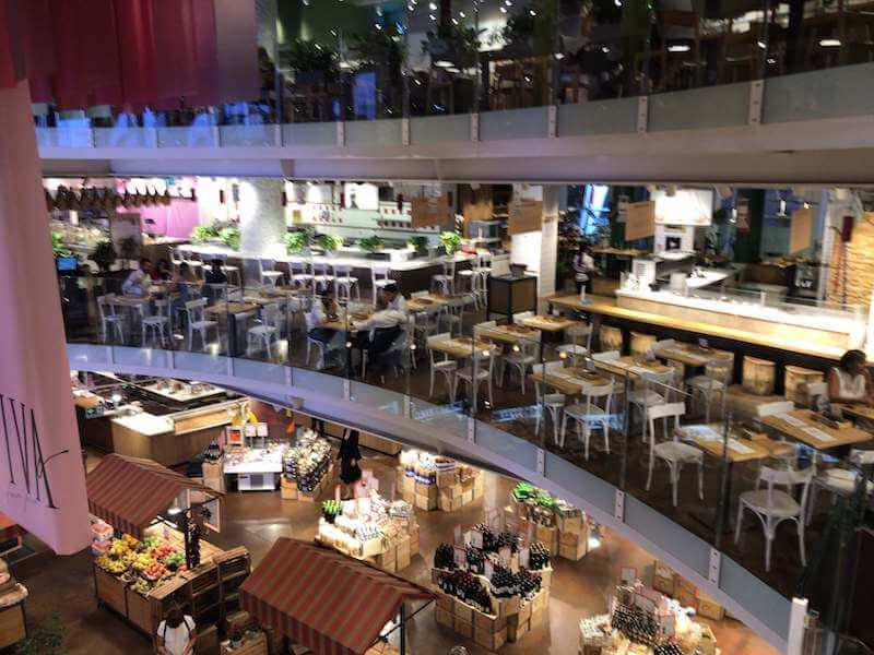 ミラノ最先端のお洒落なスーパー、イータリー(EATALY)深夜まで営業