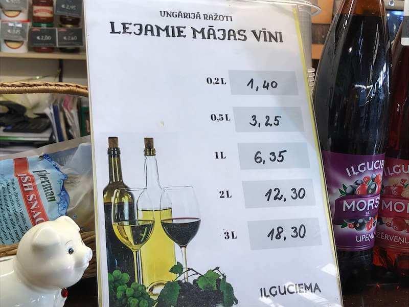 ラトビア・リガの中央市場の楽しみ方①◆立ち飲みBAR編