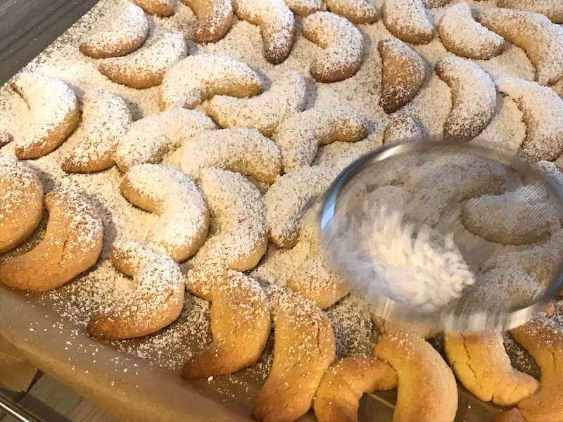 vanillakipfel バニラキプフェルのレシピ