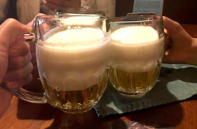 泡だけのビール・ピルスナーウルケルの飲み方