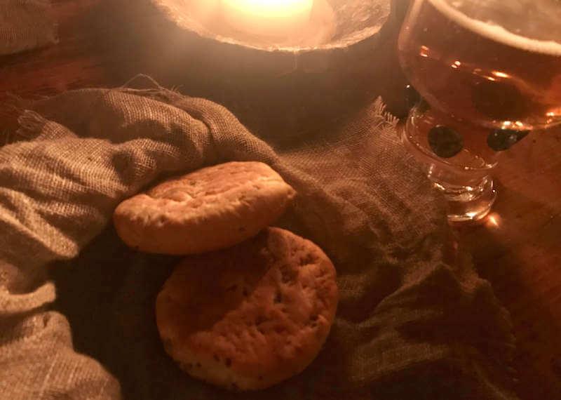 ローゼングラルス 中世レストランのパン。