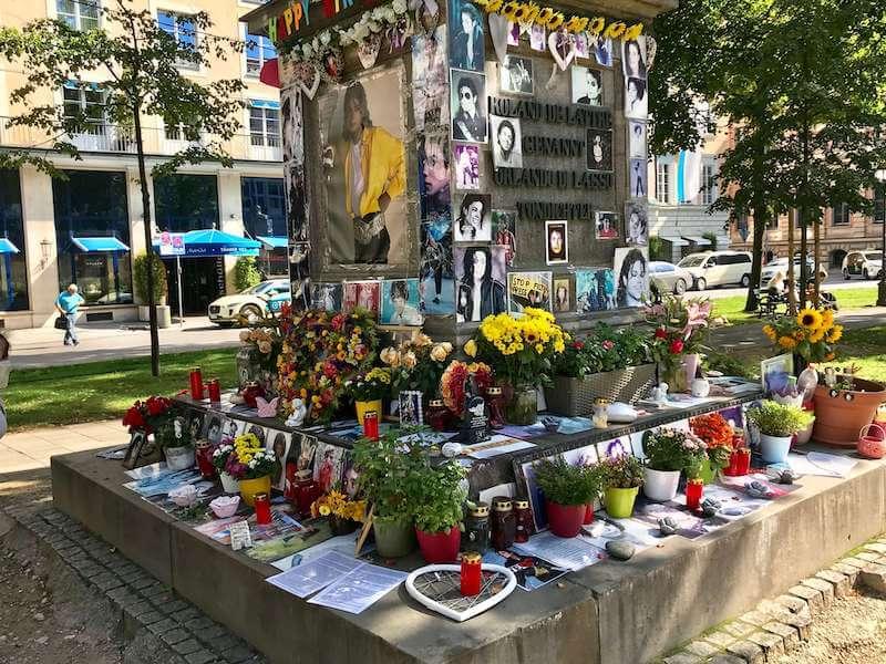 バイエリッシャーホフ マイケル・ジャクソン追悼