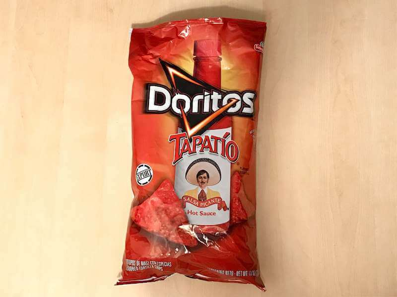 アメリカ発・ドリトス タパティオ(Tapatio)味◆日本未発売◆激辛旨トルティーヤチップス