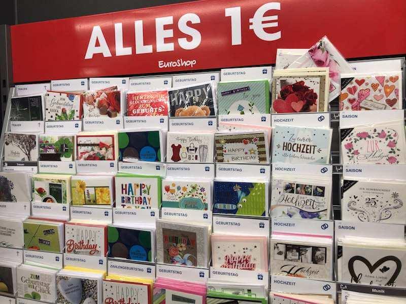 ドイツの1ユーロショップ(百均)はお得なのか◆買うべきもの、買うべきでないもの。