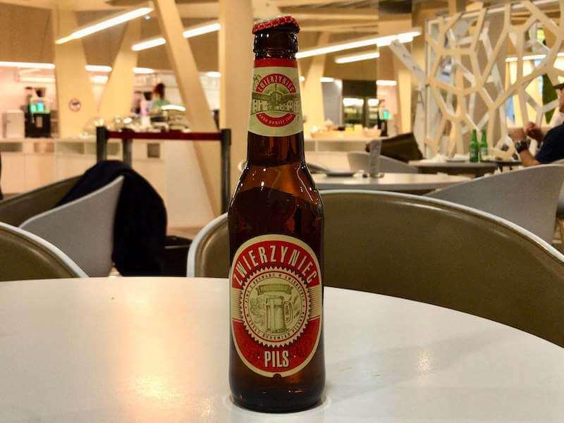ポーランドの爽やかなビール◆ズヴィエジニエッツピルスーZwierzyniec Pilsー◆醸造所見学も可