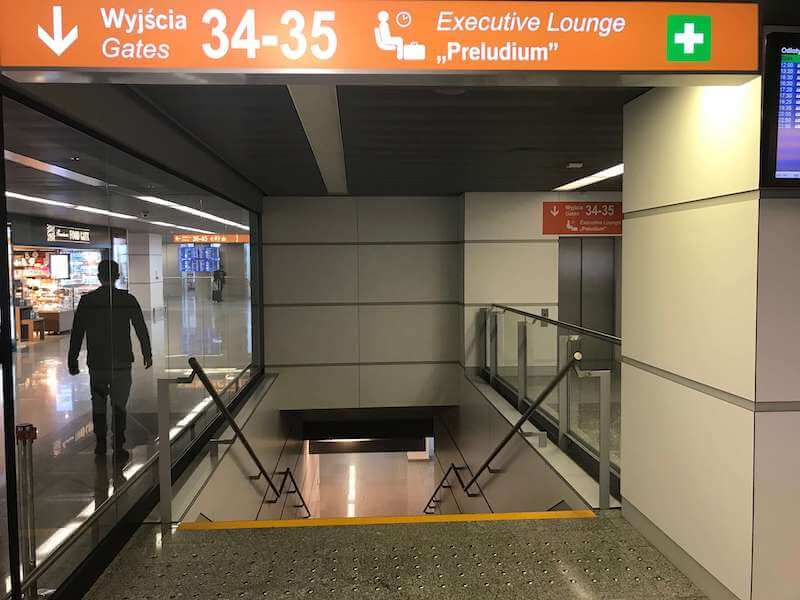 ワルシャワ空港ラウンジ【Preludium Lounge】行き方