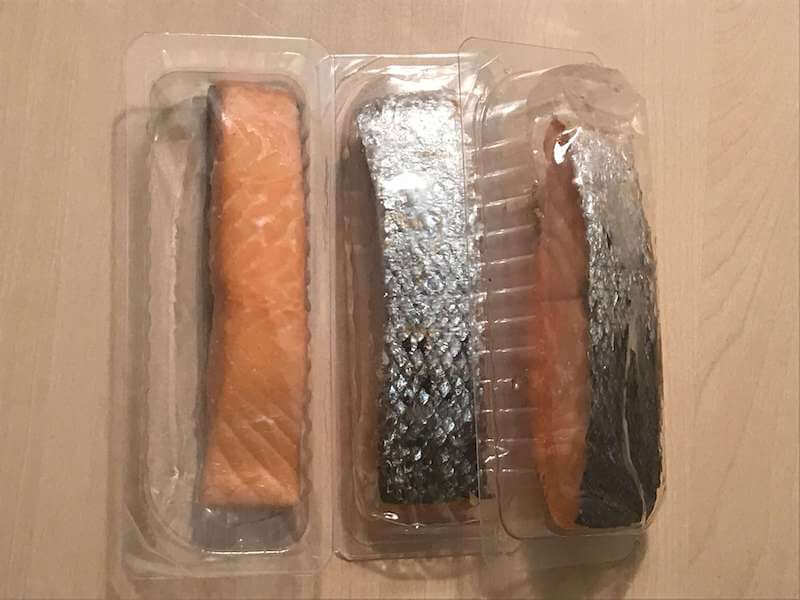 Stremellachsドイツの鮭の燻製